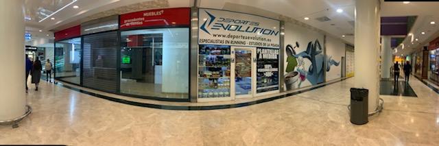 tienda de running deportes evolution Madrid